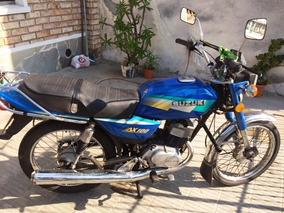 Moto Suzuki Ax 100 - Impecable