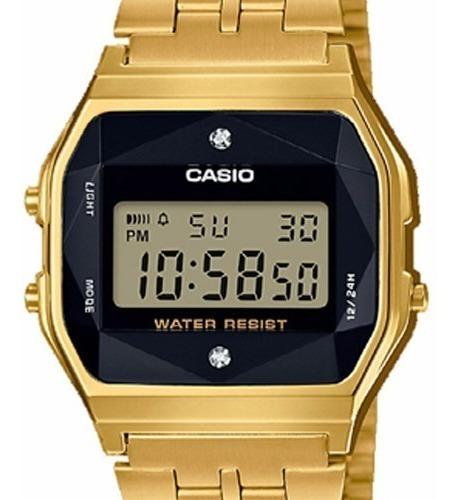 Relógio Casio A159 Vintage A159wged-1df Diamante Garantia
