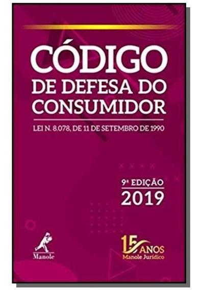 Código De Defesa Do Consumidor 9a Ed. 2019
