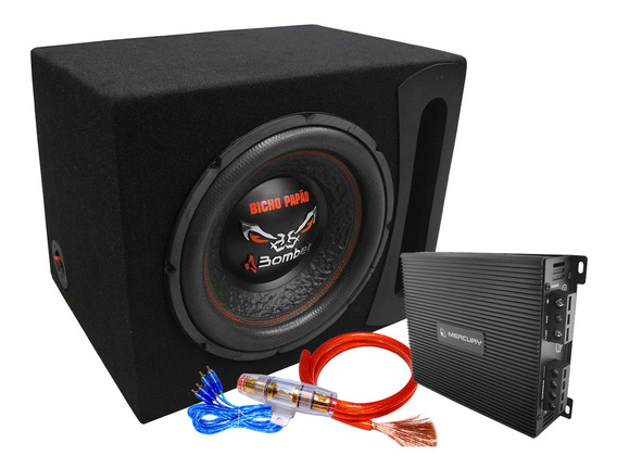 Combo + Potencia + Subwoofer 12