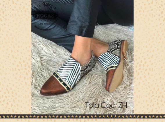 Zapato Mocasin Tola Rocas