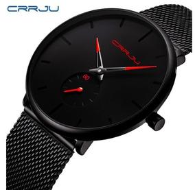 Relógio Masculino Crrju 2150 Original Ultra Fino