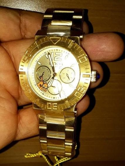 Relógio Invicta Ed. Ltda. 24871 Feminino Ouro 18k Original