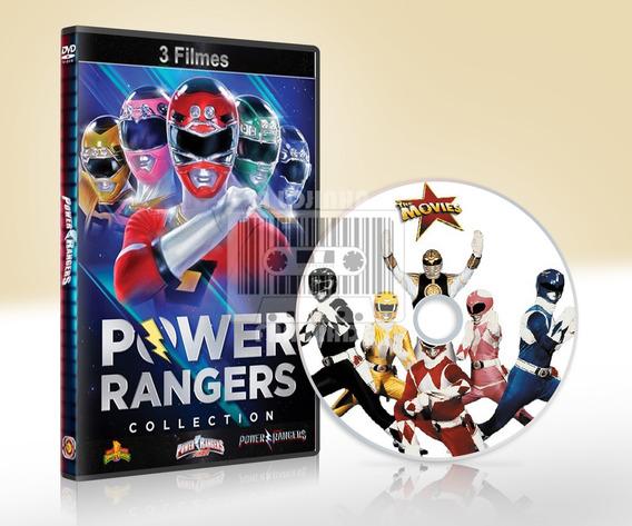 Dvd Power Rangers, Os 3 Filmes Dublados