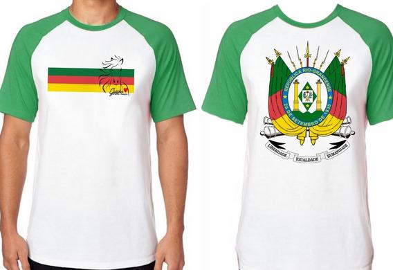 Camiseta Luxo Gaúcho Cavalo Crioulo Rio Grande Do Sul Rs