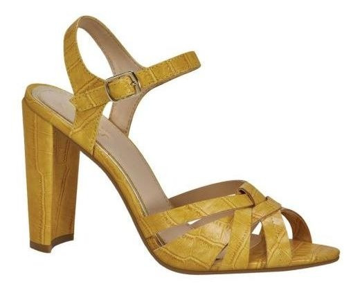 Sandalia Casual Yaeli Fashion 8 872582-29 Cocodrilo Amarillo