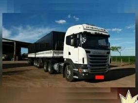 Scania R 440 6x4 2013/2013 + Rodotrem 2015 Otimo Estado