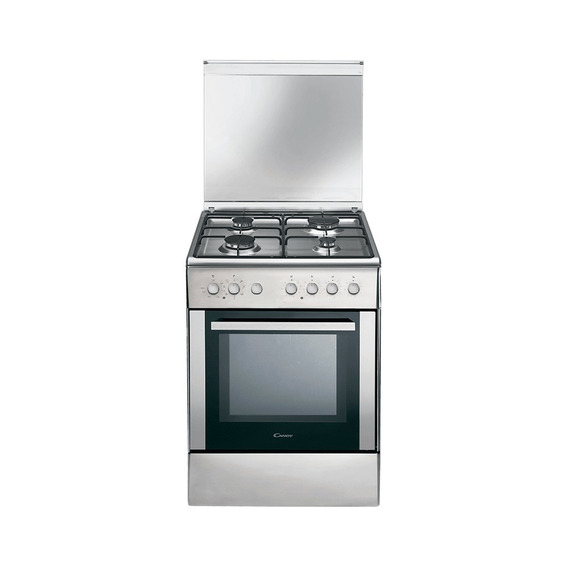 Cocina Mixta Eléctrica Gas 52 Lts Grill Candy Ccg6503px *10