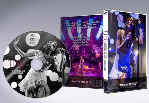 Dvd - Tini: En La Usina Del Arte De Buenos Aires