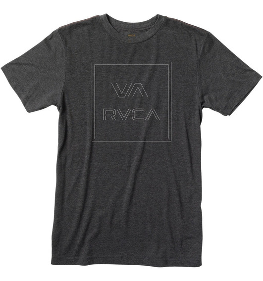 Remera M/c Rvca Pinner All The Way S Black Hombre M420qrpi