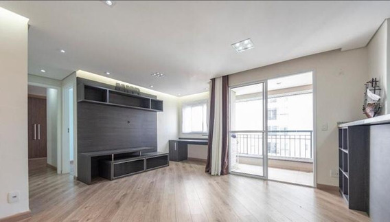 Vendo Apartamento De 60m², 2 Dormitórios, 2 Banheiros 1 Sendo Suíte, 1 Vaga De Garagem, Condomínio Club Life Morumbi - Ap2387