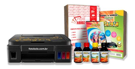 Kit Fábrica Classic - Impressora De Papel De Arroz Fotobolo