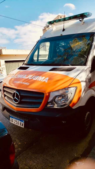 Mercedes-benz Sprinter 2.1 415 Ambulancia 3665 150cv Te V1