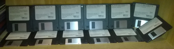 Hp Officejet 700 725 Drivers Original 12 Diskettes Coleccion