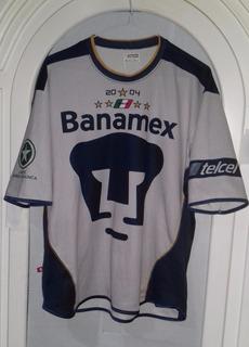 Jersey Puemas Unam Apertura 2004 Talla Mediana Lotto