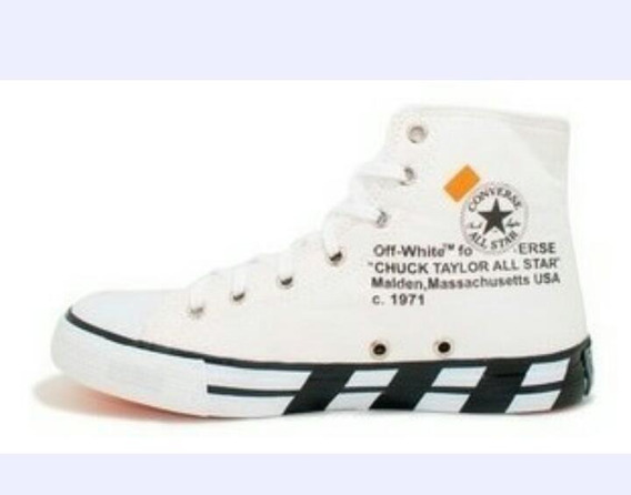 Botinha All St Chuck Taylor Off White