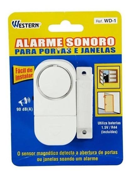 Alarme Sonoro Para Portas E Janelas Western Wd-1