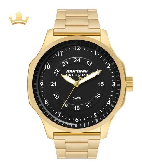 Relógio Mormaii Masculino Mo2035gz/4d Com Nf