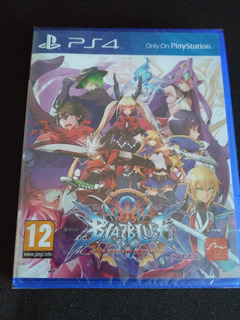 Blazblue Central Fiction Ps4 Nuevo Sellado Fisico