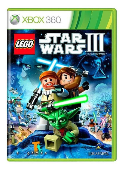Lego Star Wars Iii Xbox 360 Mídia Física Pronta Entrega
