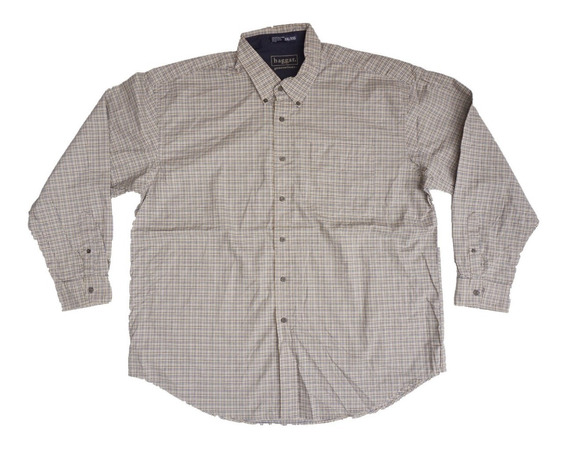 Camisa Casual Haggar Talla 2xl Moderna 100% Algodon