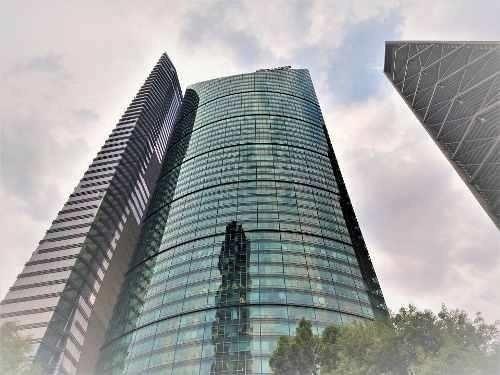 Oficina En Renta Reforma Acond, Piso 16 Con 1,703 M2 Tmayor