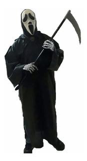 Túnica Pânico Adulto Halloween Terror Cosplay Anime