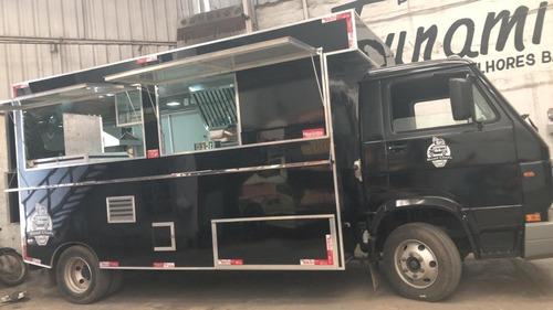 Food Truck Treilher Caminhão 3/4 (montagem Sem O Veículo)