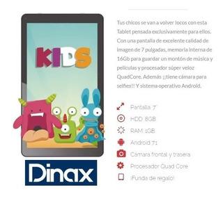 Teblet 7 Dinax Kids + Funda