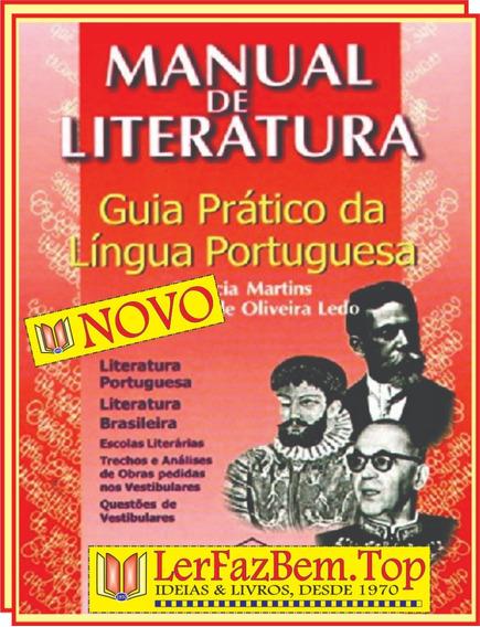 Manual De Literatura | Livro Novo + Brinde + Frete Grátis!!!