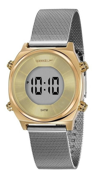 Relógio Speedo Feminino Ref: 24871lpevbs2 Digital Bicolor
