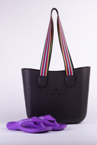 Bag Playero + Flips Flop Kioshi