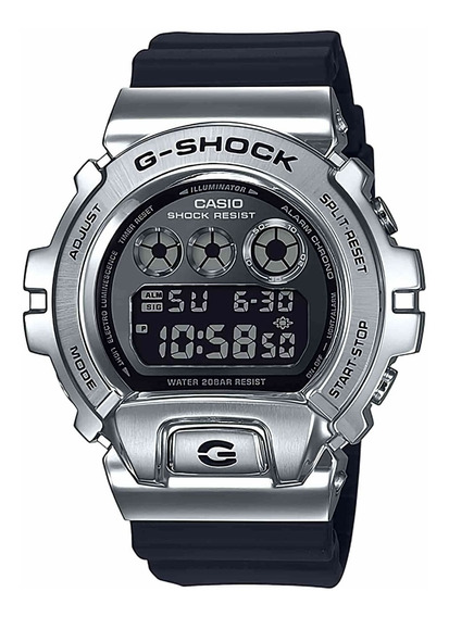 Relógio Casio G-shock Metal Prata Gm-6900-1dr +original +nfe