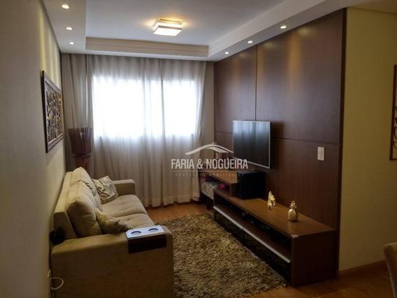 Apartamento Com 2 Dormitórios À Venda, 58 M² Por R$ 210.000 - Vista Alegre, Jardim Residencial Das Palmeiras - Rio Claro/sp - Ap0386