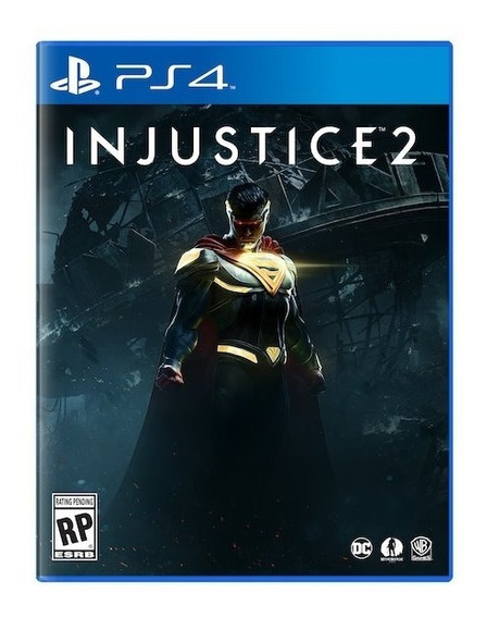Injustice 2 - Ps4 Mídia Física Lacrado Jogo Playstation 4