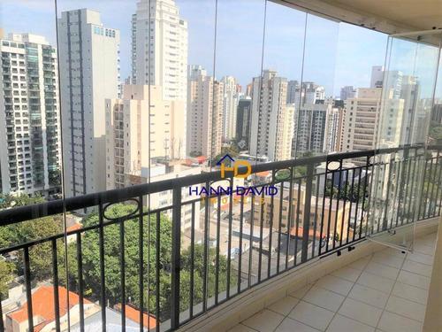 Excelente Apartamento De 72 M ² E Duas Vagas Em Área Nobre De Moema !!! Confira !!!! - Ap3688