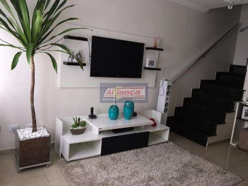 Sobrado Com 2 Dormitórios À Venda, 67 M² Por R$ 320.000,00 - Jardim Ottawa - Guarulhos/sp - Ai19568