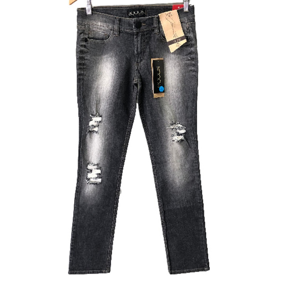 Calça Feminina Equus Jeans Destroyed Promoção 015