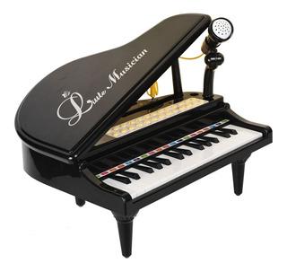 Baoli Teclas Mini Juego Con Micrófono Piano Para Niños...