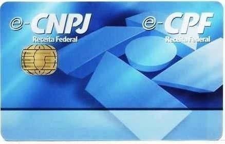 Certificado Digital Cartão + Leitora P/ Certificado Digital