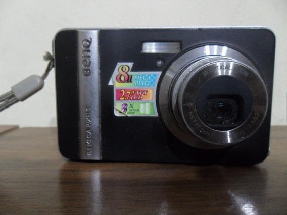 Camera Fotografica Digital Benk Dc E800 Sem Bateria E Cabos