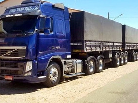 Volvo Fh 540 6x4 2015 Com Rodotrem 9 Eixos