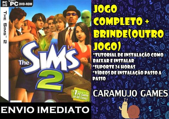 The Sims 2 Pc - Edição Completa Todas As Expansões + Brinde
