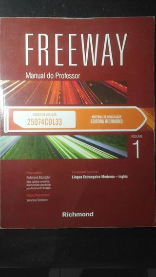 Livro - Freeway Vol. 1 C/ Cd Manual Do Professor