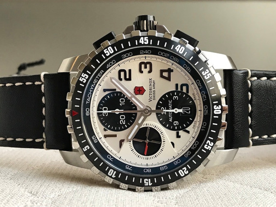 Relógio Victorinox Alpnach Automatic Chrono Panda 241450