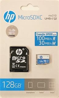 Cartão De Memória 128gb Hp Microsdxc Hfud128-1u1ba