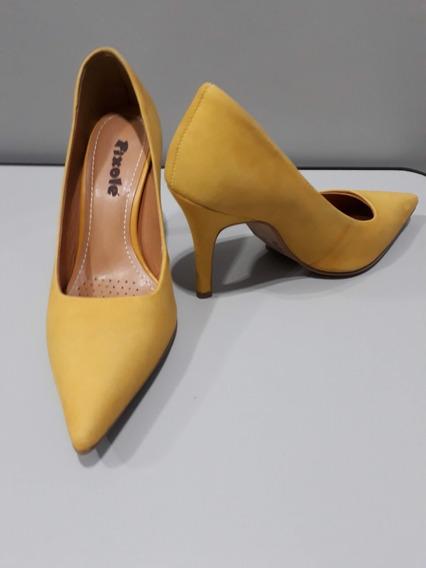 Sapato Scarpin - Marca Pixolé - Usado
