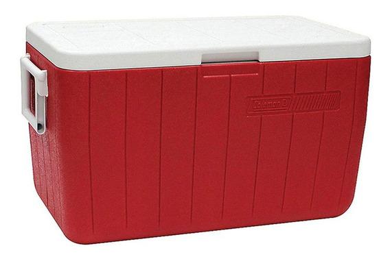 Caixa Térmica 45.4 Lts Vermelho - Coleman