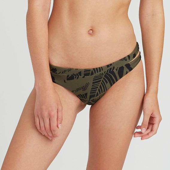 Bikini Calzon Femenino Harlo Cheeky Verde Rvca