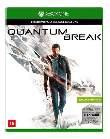 Quantum Break Xbox One Midia Fisica Pronta Entrega